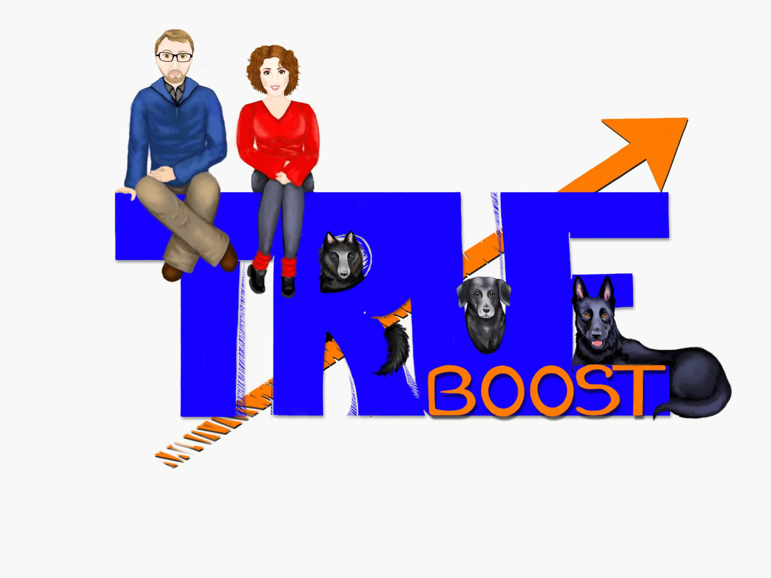 true boost digital team