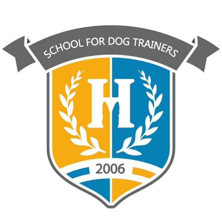 school for dog trainers logo