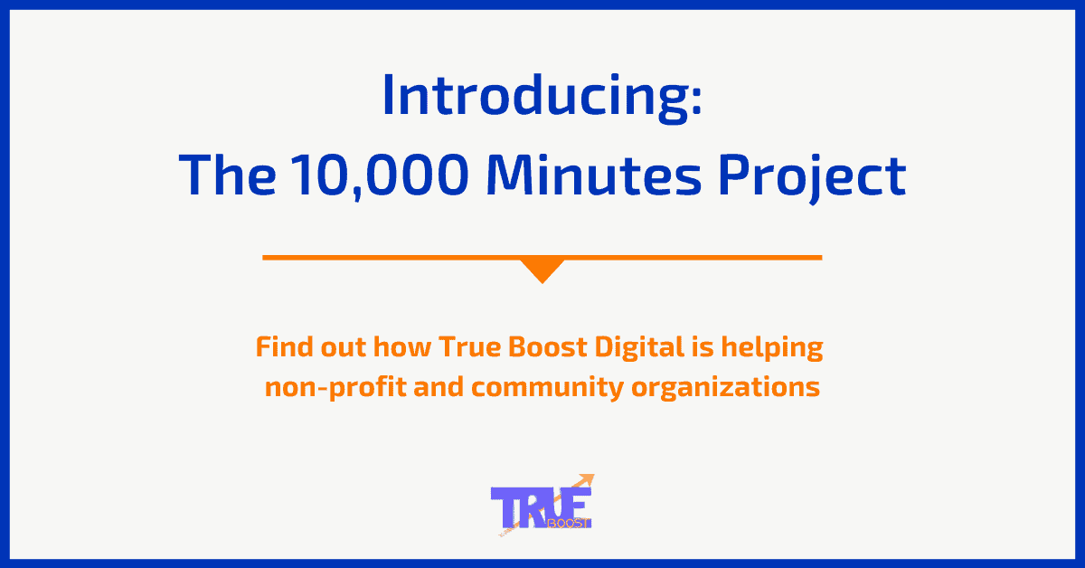 Introducing The 10000 Minutes Project